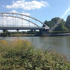 Photo taken at Mittellandkanal by Waldemar Z. on 9/5/2013
