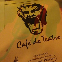 Photo taken at Café do Teatro by brainjob on 8/17/2013