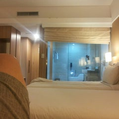 Photo taken at Novotel Surabaya Hotel and Suites by David R. on 7/13/2015