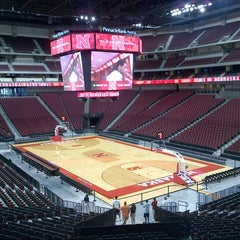 Photo taken at Pinnacle Bank Arena by Rick V. on 8/31/2013