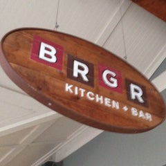 Photo taken at BRGR Kitchen + Bar by Shane W. on 7/29/2014