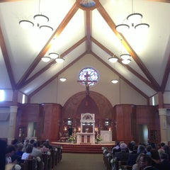Photo taken at St. Matthew Catholic Church by Chad D. on 8/24/2013