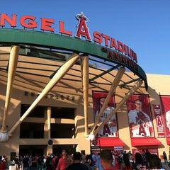 Photo taken at Angel Stadium of Anaheim by Christian M. on 7/6/2013