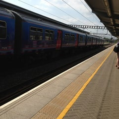 Photo taken at Luton Airport Parkway Railway Station (LTN) by Steamfunk on 7/8/2013