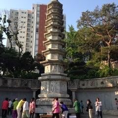 Photo taken at 보문사 (普門寺) by JONG CHUL P. on 5/24/2015