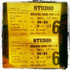 Photo taken at Studio XXI by Hamonangan S. on 11/17/2012