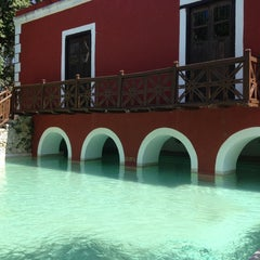 Photo taken at Hacienda Santa Rosa by Vero P. on 4/25/2014
