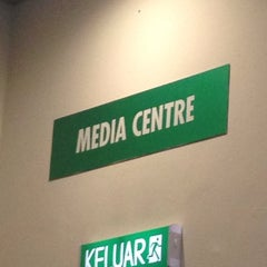 Photo taken at Media Centre | Sepang International Circuit by umy s. on 3/26/2014