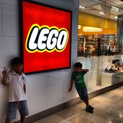 Photo taken at The LEGO Store by Jeff C. on 8/21/2013
