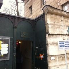Photo taken at Catacombes de Paris by Artem R. on 12/15/2012