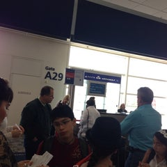 Photo taken at Gate A29 by Glen W. on 5/23/2014