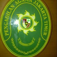 Photo taken at Pengadilan Agama Jakarta Timur by vian k. on 11/30/2012