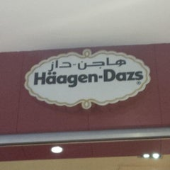 Photo taken at Haagen Dazs by Mohammad N. on 6/21/2013