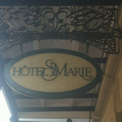 Photo taken at Hotel St. Marie by Molly M. on 6/25/2013