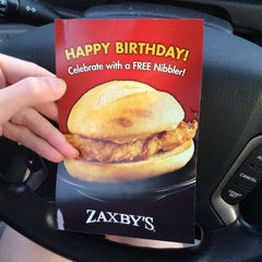 Photo taken at Zaxby's by Tiffany G. on 5/23/2014