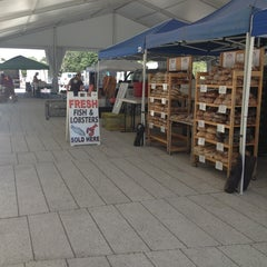 Photo taken at Harvard Farmers' Market by Betsy O. on 8/6/2013