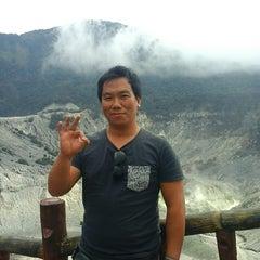 Photo taken at Gunung Tangkuban Parahu by I Komang P. on 7/11/2015