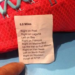 Photo taken at Niketown SF Run Club by Mark N. on 4/10/2014