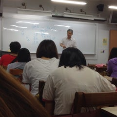 Photo taken at 銘傳大學台北校區 Ming Chuan University by Polle L. on 5/20/2014
