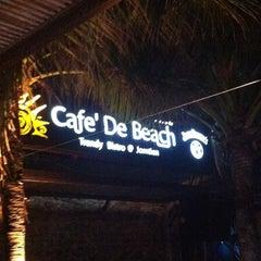 Photo taken at Cafe' De Beach by NY_PK999 on 11/3/2012