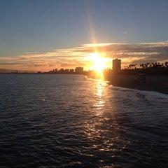 Photo taken at Belmont Veterans Memorial Pier by Jon🌴🌊🏄🌅 R. on 7/14/2015