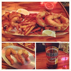 Photo taken at Joey's Shrimp House by Leah J. on 12/21/2013