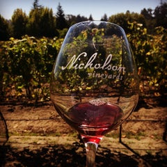 Photo taken at Nicholson Vineyards by Christopher B. on 9/6/2014
