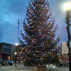Photo taken at Mathias Mitchell Public Square by Becky K. on 12/2/2013