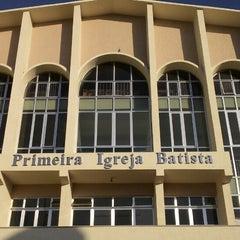 Photo taken at Primeira Igreja Batista em Arraial do Cabo by Leone F. on 4/18/2013