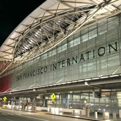 Photo taken at San Francisco International Airport (SFO) by Jerry C. on 7/3/2013