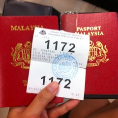 Photo taken at Jabatan Imigresen Malaysia by Catherine V. on 7/3/2013