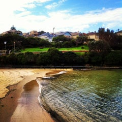 Photo taken at Clovelly Beach by Giovanni S. on 7/16/2013