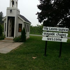 Photo taken at The Living Water Wayside Chapel by Rain B. on 7/2/2013