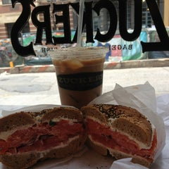 Photo taken at Zucker's Bagels and Smoked Fish by Seth F. on 3/2/2013