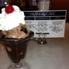Photo taken at Frango Cafe by Ken R. on 4/17/2013