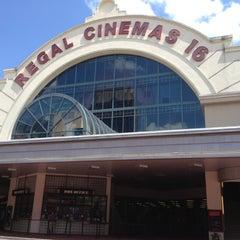 Photo taken at Regal Cinemas Atlantic Station 18 IMAX & RPX by Kortney on 6/16/2012