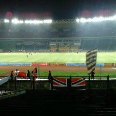 Photo taken at Stadion Utama Gelora Bung Karno (GBK) by Reza Yudanto N. on 7/3/2013