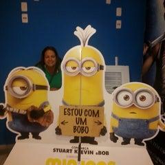Photo taken at Cinemas Costa Dourada by Márcia I. on 7/29/2015