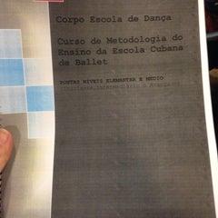 Photo taken at Corpo Escola de Dança by Letícia V. on 4/5/2014