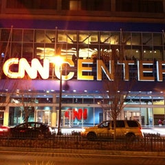Photo taken at CNN Center by Cameron G. on 12/16/2012