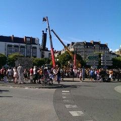 Photo taken at Marché de la Petite Hollande by Olivier D. on 6/8/2014