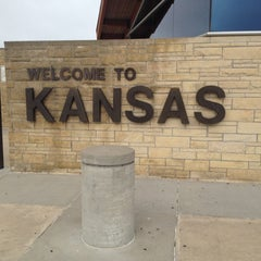 Photo taken at Kansas Travel Information Center by Jon S. on 9/27/2012