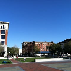 Photo taken at Ellis Square by Steve S. on 2/28/2013