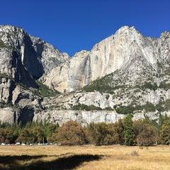 Photo taken at Lower Yosemite Falls by Fabyan O. on 11/1/2015