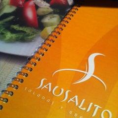 Photo taken at Sausalito - Saladas e Grelhados by Danielle C. on 3/31/2012