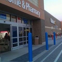 Photo taken at Walmart Supercenter by Road Warrior on 9/13/2011
