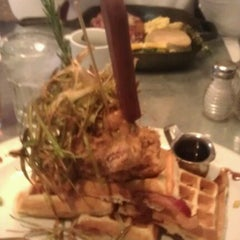 Photo taken at Hash House A Go Go by Dresden F. on 12/24/2011