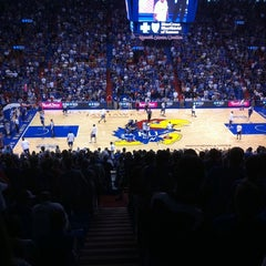 Photo taken at Allen Fieldhouse by Bill F. on 9/24/2011