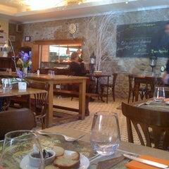 Photo taken at Café du Marché by Alain D. on 1/19/2011