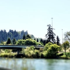 Photo taken at SweetWaters on the River by Radio M. on 5/6/2012